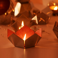 Lotus Glow Tealight Holder