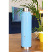 Fins Water Bottle - Blue